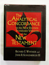 Analytical Concordance to New Revised Standard Version of the New Testament HCDJ