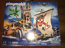 Playmobil Pirates Bastion Set 5919 NEW SEALED in box Boat Soldiers Jail