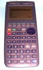 TESTED WORKING Casio Algebra FX 2.0 Graphing Calculator W BATTERY SLIDE COVER