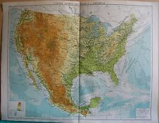Mexico Antique North America Physical Maps for sale | eBay