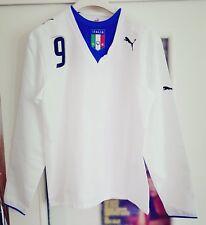 MAGLIA NAZIONALE CALCIO ITALIA ITALY STORICA TONI 9 2006 ORIGINALE PUMA FIGC XL