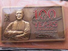 LIVERPOOL '100 YEARS' BOB PAISLEY MAGNET -BRAND NEW