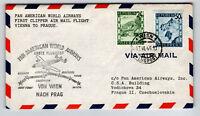 Austria 1946 PanAm FFC Vienna to Prague - Z13032