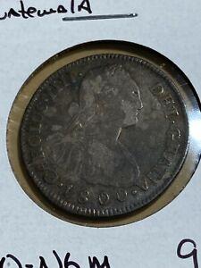 1800-NG M Guatemala 2 Reales!!