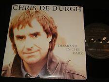 CHRIS DE BURGH AUSSIE P/S 45 - DIAMOND IN THE DARK- MINT 1980s ROCK