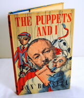 The Puppets and I by Jan Bussell 1950 London Puppet Master Autobiography Rare