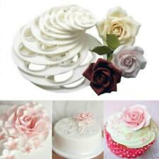 Cake Rose Petal Flower Cutter Fondant Icing Tools Decorate Mould C
