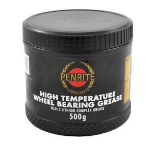 Penrite High Temperature Wheel Bearing Grease - 500G