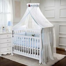 Kids Baby Cot Bed Mosquito Net Curtain Canopy Dome Mesh Nursery Summer AU007