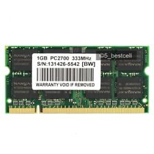 New 1GB PC2700 DDR 333mhz 200Pin Laptop memory Ram For Dell Inspiron 8600 9200