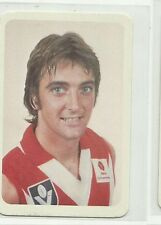 AFL 1981 ARDMONA SOUTH MELBOURNE IAN ROBERTS #17 CARD