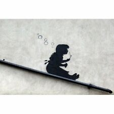 (LAMINATED) BANKSY POSTER (42x59cm) SLIDING BUBBLES NEW ART