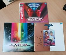 Joblot - Rare Authentic Japanese Lazer Discs (Star Trek) x3
