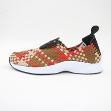 newest 9696b 19802 Mens Nike Air Woven Trainers Red Ale Brown UK 7 BNB 312422 004 RARE SNEAKERS