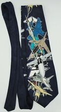 Men's Necktie Tie Air Force Fighter Jets Preowned  A. Rogers