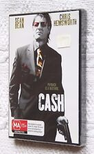 CASH, Starring- Sean Bean (DVD), R-ALL, NEW AND SEALED, FREE POST IN AUSTRLIA