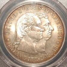 1900 LAFAYETTE $1 COMMEM. SILVER DOLLAR PCGS MS63 PARIS WORLD'S FAIR WASHINGTON