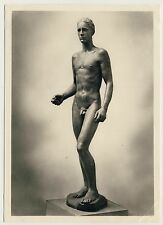 "Richard Scheibe ""JÜNGLING"" Male Nude / Männer Akt * Vintage 1930s RPPC Gay Int"