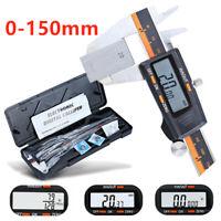 Stainless Steel Electronic Digital LCD Vernier Caliper Gauge Micrometer 0-150mm