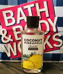 Bath And Body Works 10 oz Coconut Pineapple Shower Gel Shea Butter/Vitamin E