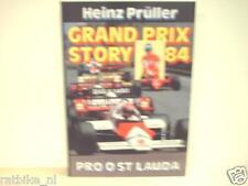 GRAND PRIX STORY 84 Heinz Prüller, F1, FORMULA ONE NIKI LAUDA