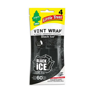 Little Trees Vent Wrap Car Air Freshener (Black Ice)