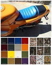 HONDA CBR600F Seat Cover Hurricane 1987 1988  BLUE & BLACK or 25 COLORS (E/PS/W)