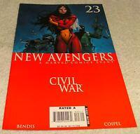 MARVEL COMICS NEW AVENGERS # 23 VF  CIVIL WAR TIE-IN
