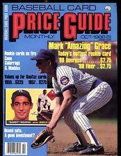 SCD Baseball Card Price Guide October 1988 Mark Grace EX No ML jhscd5