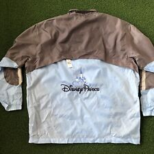 NWT Disney Parks Wind Breaker Rain Jacket XL/XXL Mens Disneyland World Packable