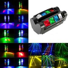 Mini Spider Stage Beam Light 8*10W RGBW 7/13 Channel DMX512 Signal Control Lamp