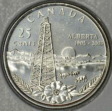 CANADA 25 cents 2005P Alberta -MS