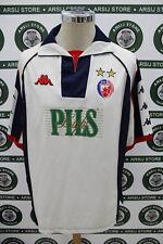 68894f780d7952 maglia calcio shirt maillot camiseta trikot STELLA ROSSA MATCH WORN