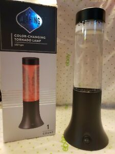 Dashing Color Changing Tornado Lamp LED light NIB Requires 3 AAA Batteries
