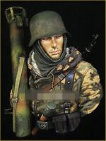 Resin Figure Bust Model Garage Kit 1/10 WW II German soldier Bust 92 Model Kit