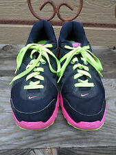 "Nike ""Revolution 2"" Black and Pink Running Shoes Women's 11"