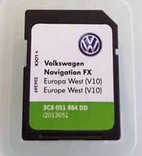 VW RNS 310 FX Version V10 Navigation SD CARD WEST MAP EUROPE 2018