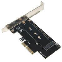 SSU EM2-5001 PCI-E 3.0 X4 to NVMe M.2 NGFF M Key SSD Riser Expansion Card R1BO