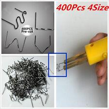 Multi-pack 400Pcs Staples HOT STAPLER STAPLES - PLASTIC WELDER STAPLES Universal