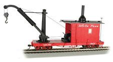 échelle 0n30 - Wagon de marchandises avec grue Blancheur Pass & Yukon - 26905