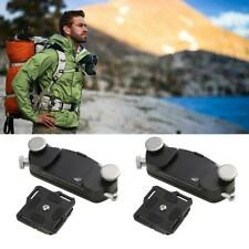 Metal Quick Release Camera Waist Belt Strap Buckle Button Mount Clip for DSLR