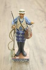 "Jim Shore, ""The Reel Word"" Fisherman Figurine, 4026887"