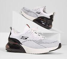 Skechers 232061/WBK Air Stratus Credin Grey Black Mens Shoes Sneaker Size 8.5-14