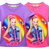 Girl Clothes Summer Funny Girls T-Shirt Top Tee Children  Jojo Siwa TShirt Top