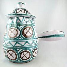 CHOCOLATIERE Céramique ROBERT PICAULT à VALLAURIS ceramic 50/jug/capron/derval