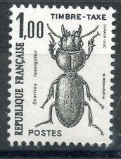 STAMP / TIMBRE DE FRANCE TAXE N° 106 ** INSECTES / COLEOPTERES