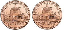 """""""Presidency"""" Coin Cuff Links (115a) 2009 Usa 1¢ Lincoln Penny"""
