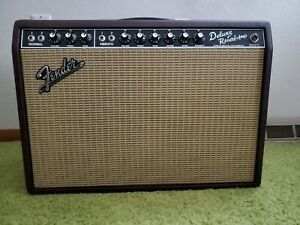 Fender '65 Deluxe Reverb 1X12 combo Sweetwater Excl Wine Red Mint Free UPS  Ship