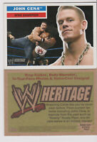 2005 Topps Heritage WWE John Cena In-Your-Face card