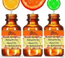 2.2 oz 100% Hyaluronic acid, 25% Vitamin C, 45% Matrixyl 3000. The BEST Serum!!!